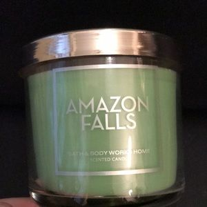 NEW RARE - AMAZON FALLS - Bath & Body Works Candle